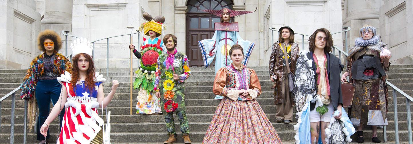 Wimbledon College of Arts costume parade