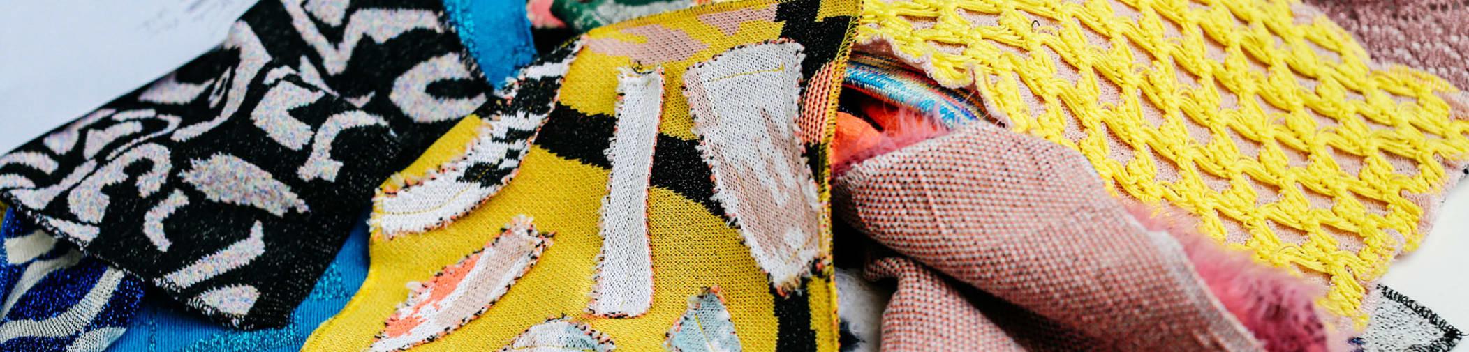 Textiles and knitwear designs by Lynn Yaung, BA (Hons) Fashion- Fashion Design with Knitwear student, Central Saint Martins