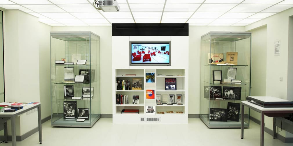 Photo of the Search room at University Archives and Special Collections Centre, London College of Communication