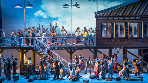 The English National Opera's Porgy and Bess, 2018. Photograph: © Tristram Kenton