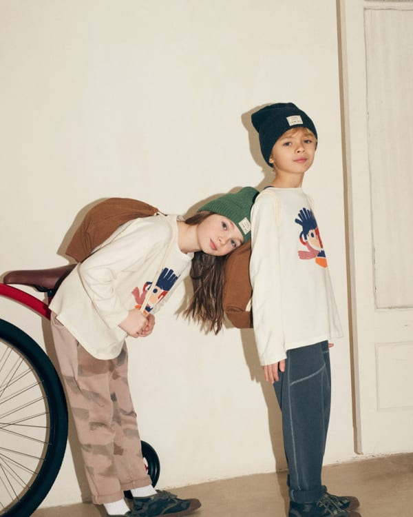 Zara Kids Gender Neutral Collection by Chelsea BA Textile Design students, 2018