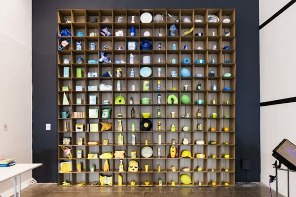 Colourful installation, Everything Happens So Much, London Design Festival 2018