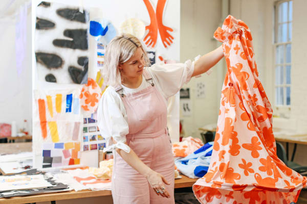 Ella Caton: BA (Hons) Textile Design, Chelsea College of Arts