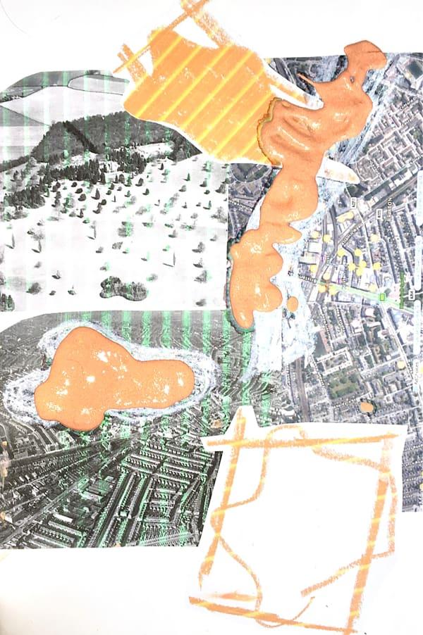 A slide from BA Fine Art: Painting student Ellie Makin's working group © Ellie Makin