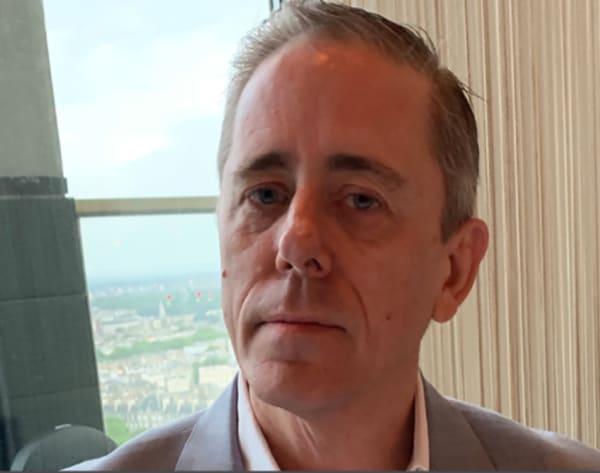 A portrait shot of Dr Mark Ingham
