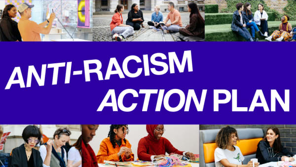 Anti-Racism Action Plan graphic