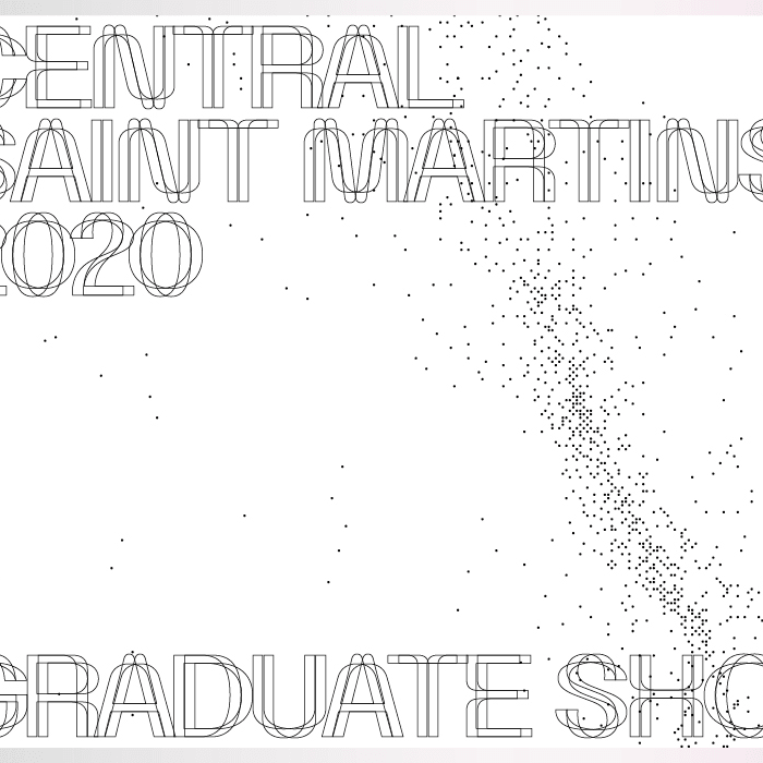 Graphic reading Central Saint Martins Graduate Showcase