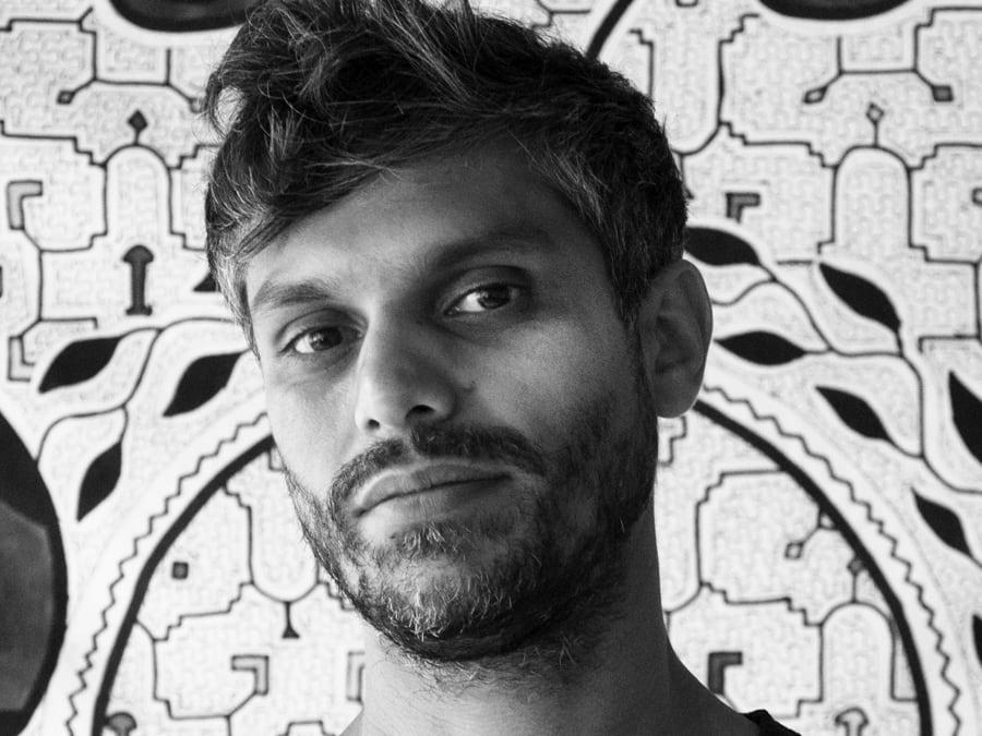 Portrait of Haroon Mirza