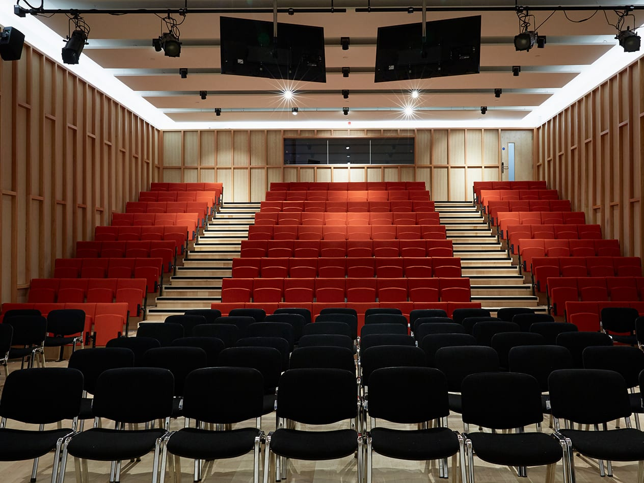 Camberwell College of Arts Peckham Road lecture theatre