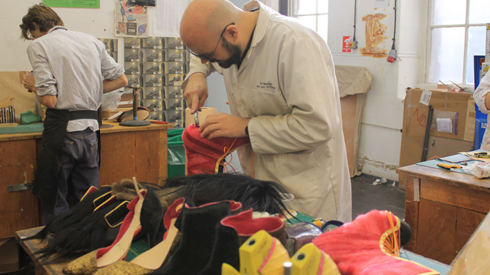 MA Footwear Students at Work