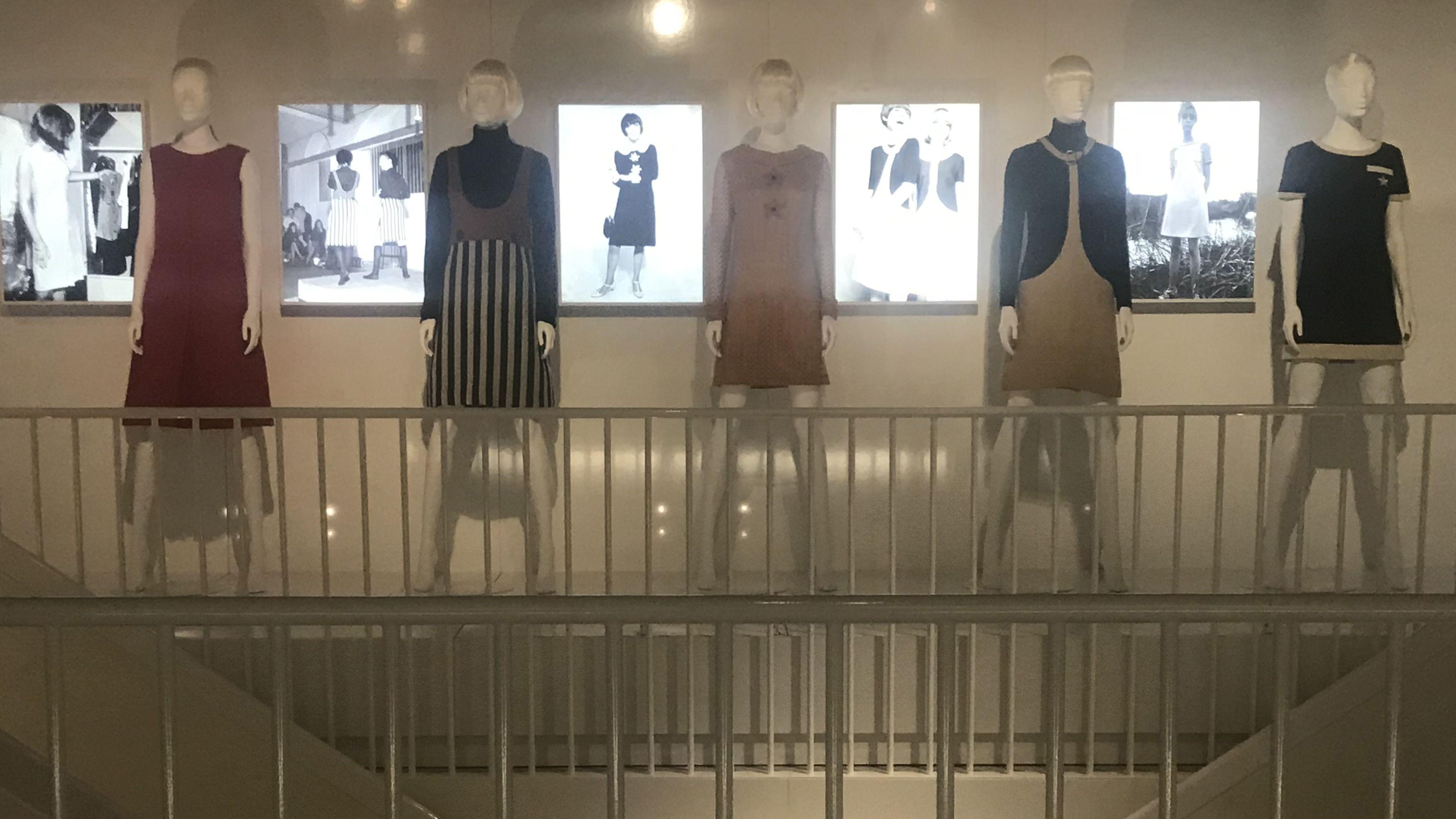 Mary Quant exhibition.