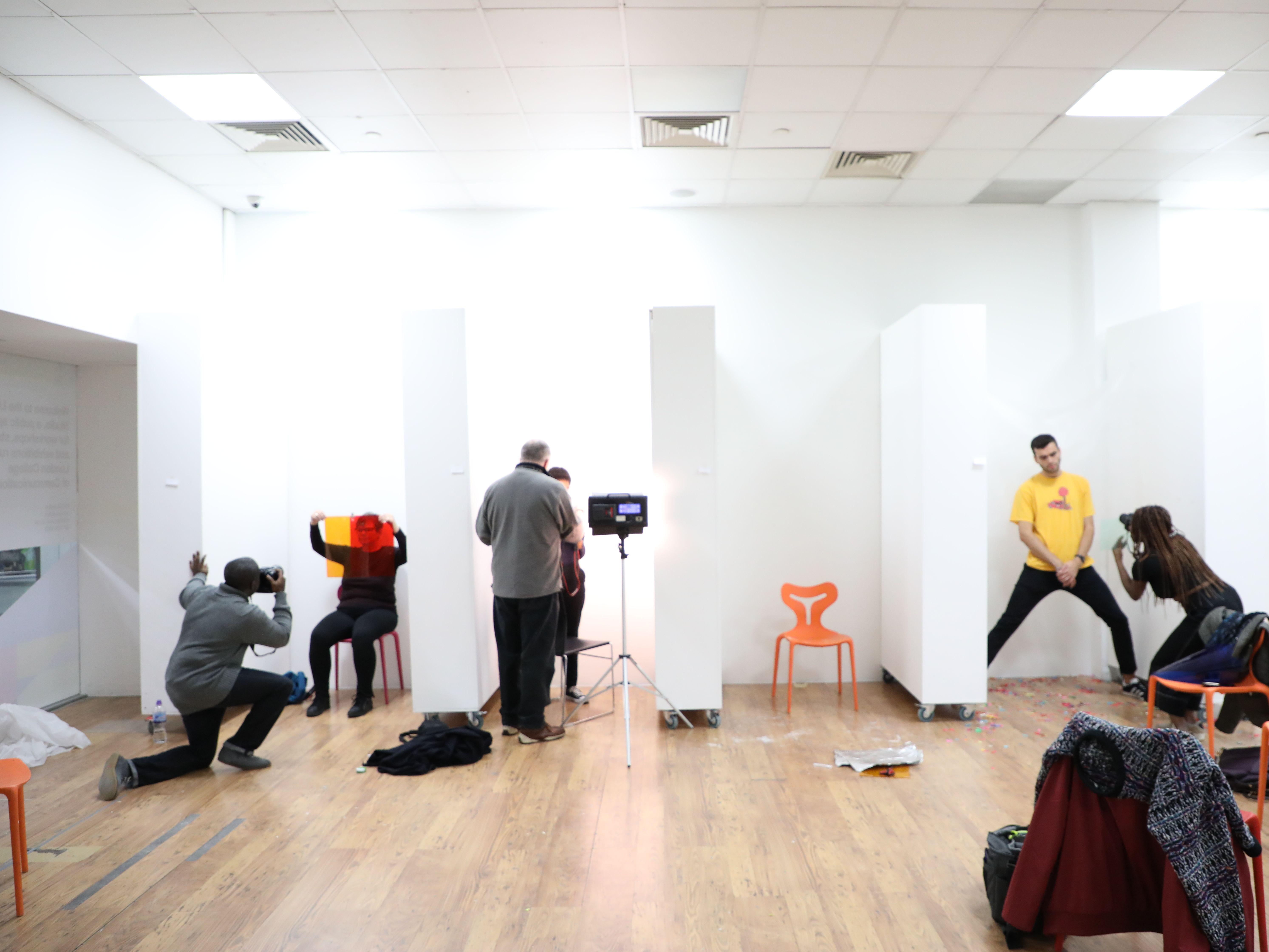Photography Workshop at LCC Studio 3