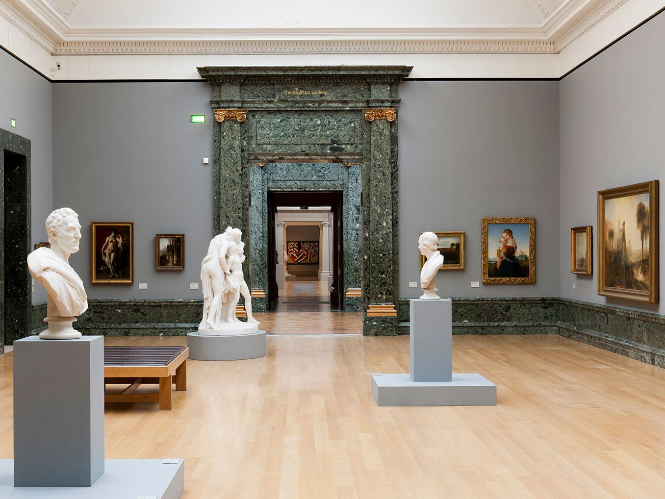 Walk through British Art at Tate Britain.