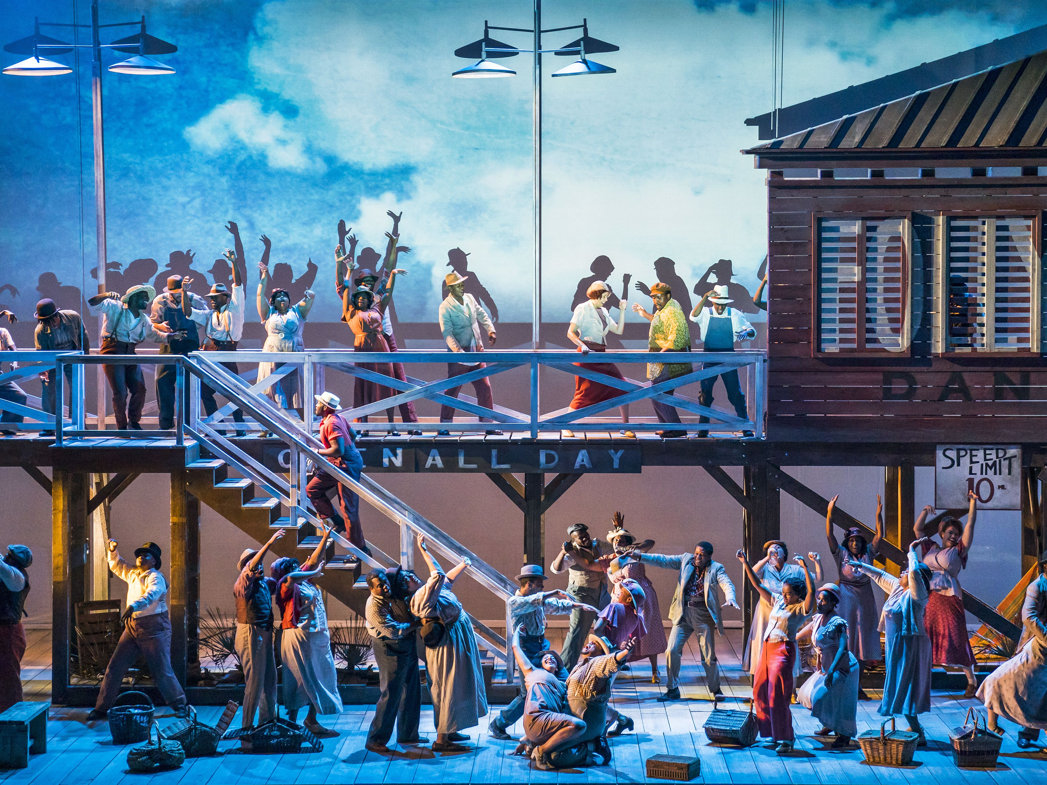 The English National Opera's Porgy and Bess, 2018. Photograph: © Tristram Kenton