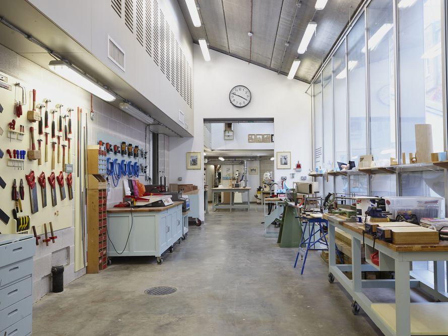 Woodwork workshops at Chelsea.