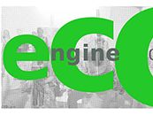 Graphic with grey background and ECC in large green letters with the words Engine ChatChat
