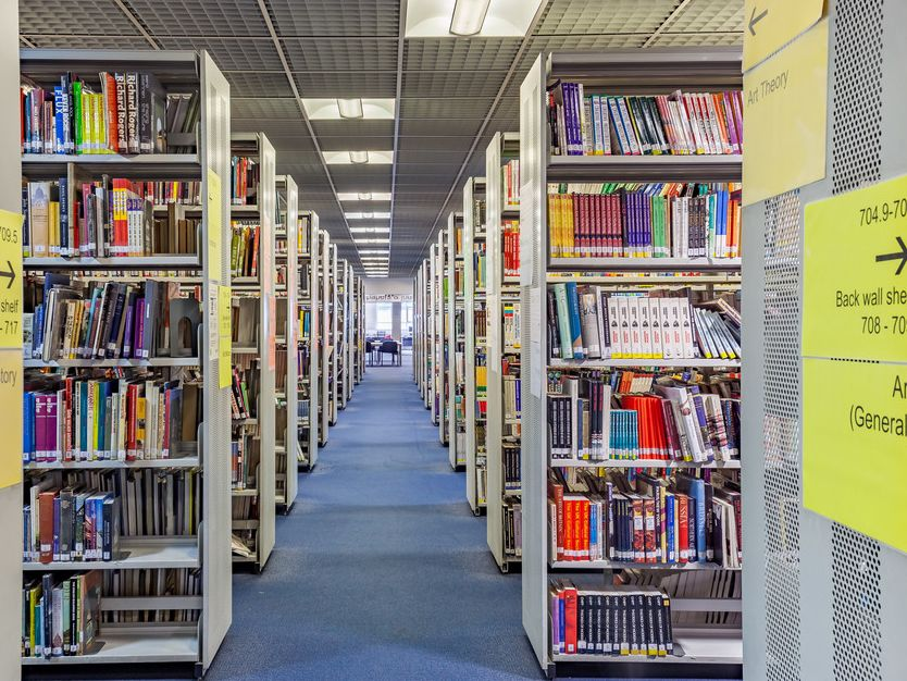Library Services at London College of Communication, LCC