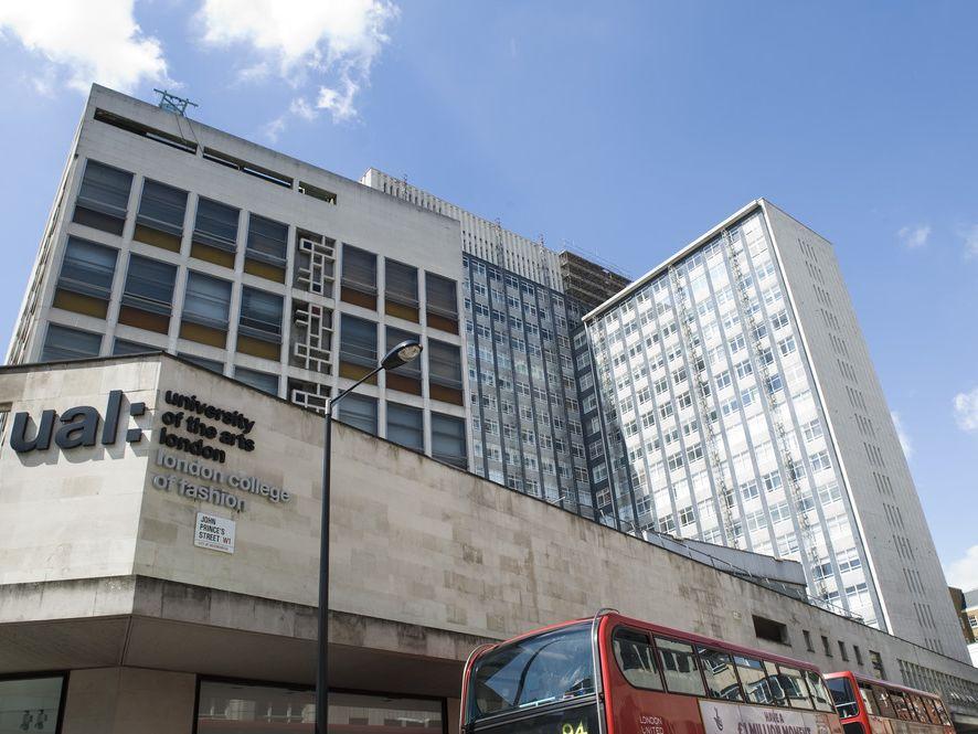 London College of Fashion's Oxford Circus site John Princes Street
