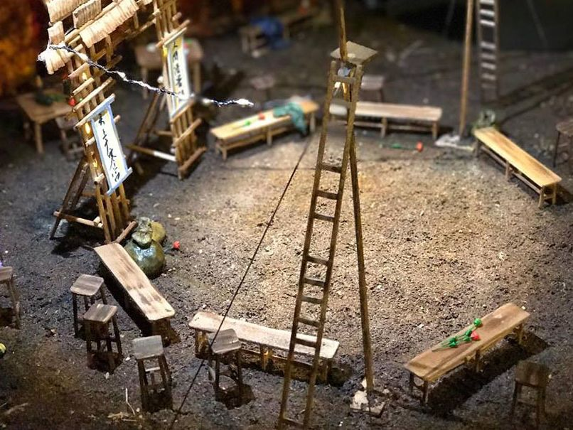 Set model by MA Theatre Design student Asimina Spyratou.