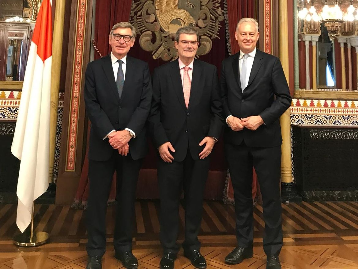 UAL with British Embassy and Bilbao Town Hall partners