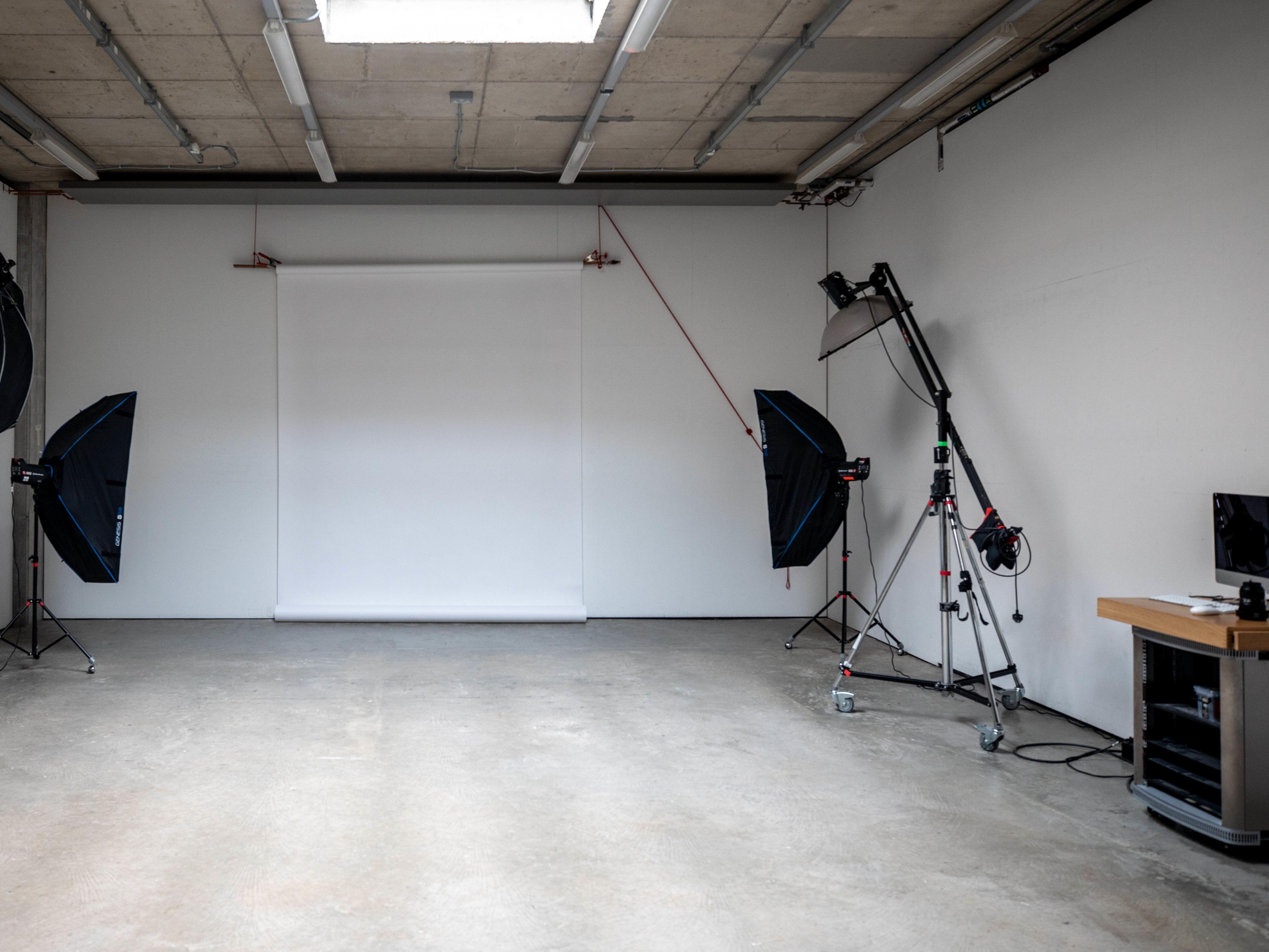 A photography studio