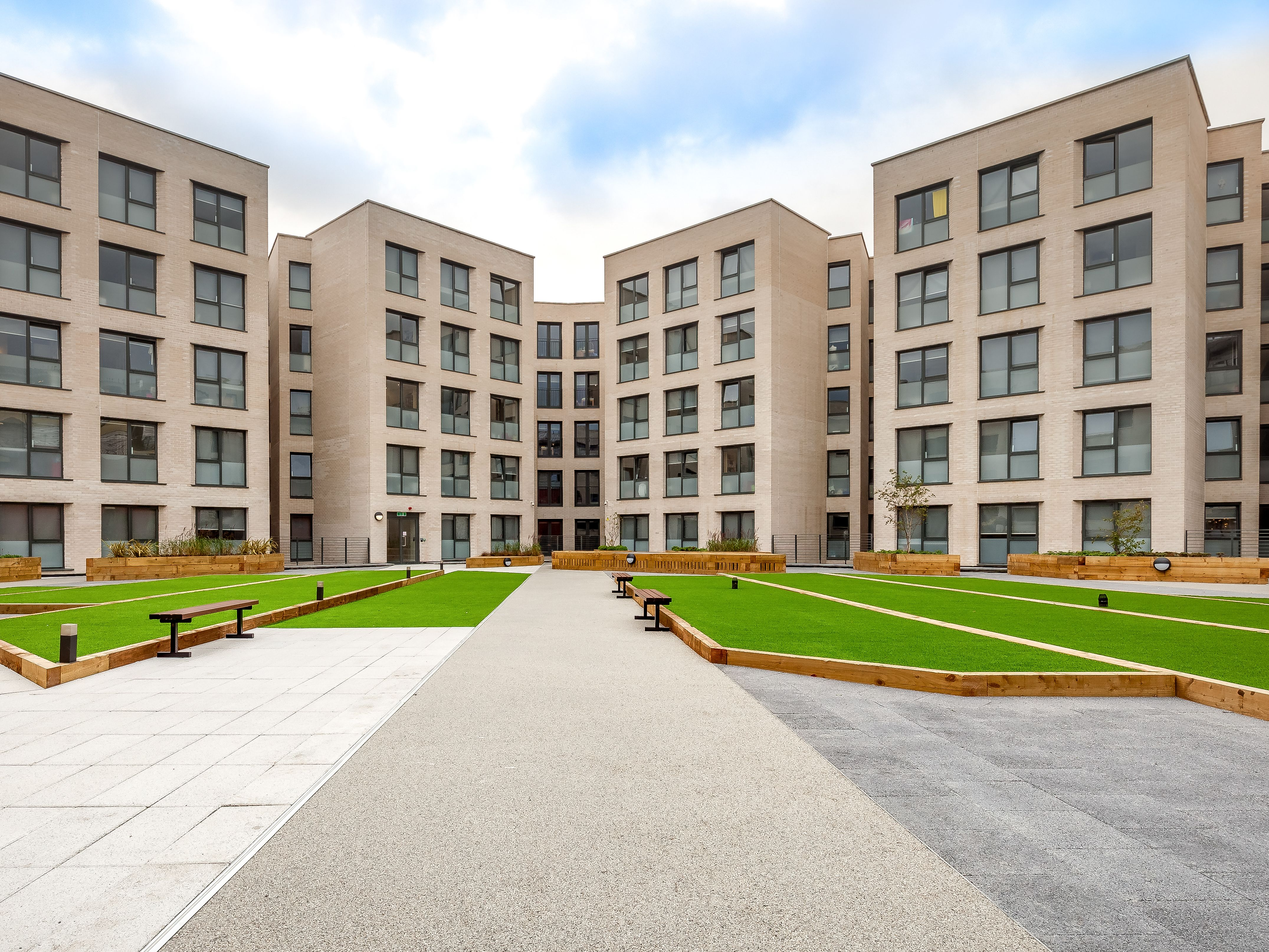 Exterior shot of Sketch House hall of residence