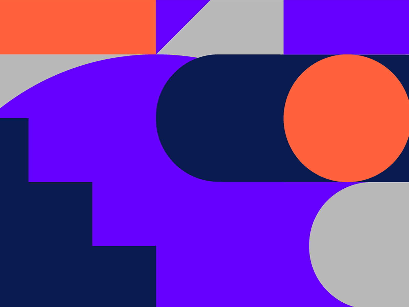Graphic design of multiple colours