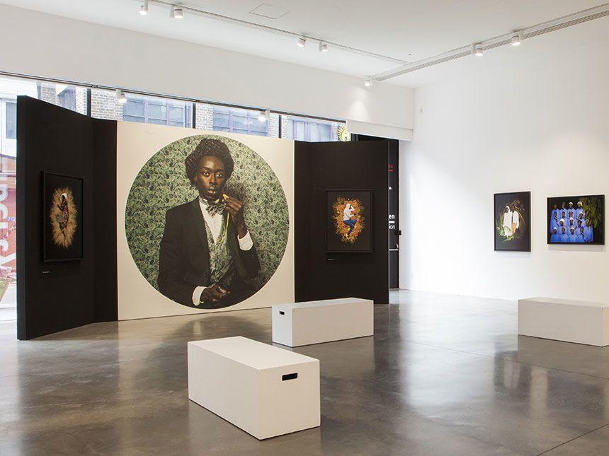 Photographs depicting Diaspora communities are exhibited at Autograph ABP.