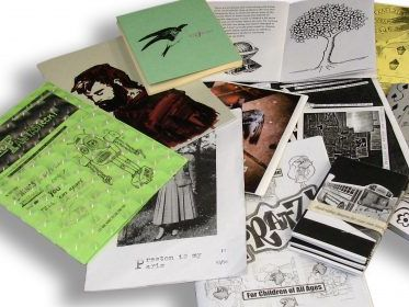 Selection of zines held in the LCC collection