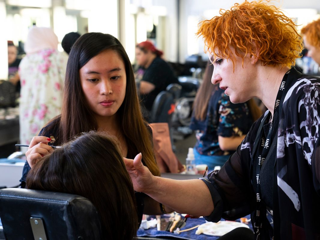 Special Effects Makeup for Film and TV for teenagers