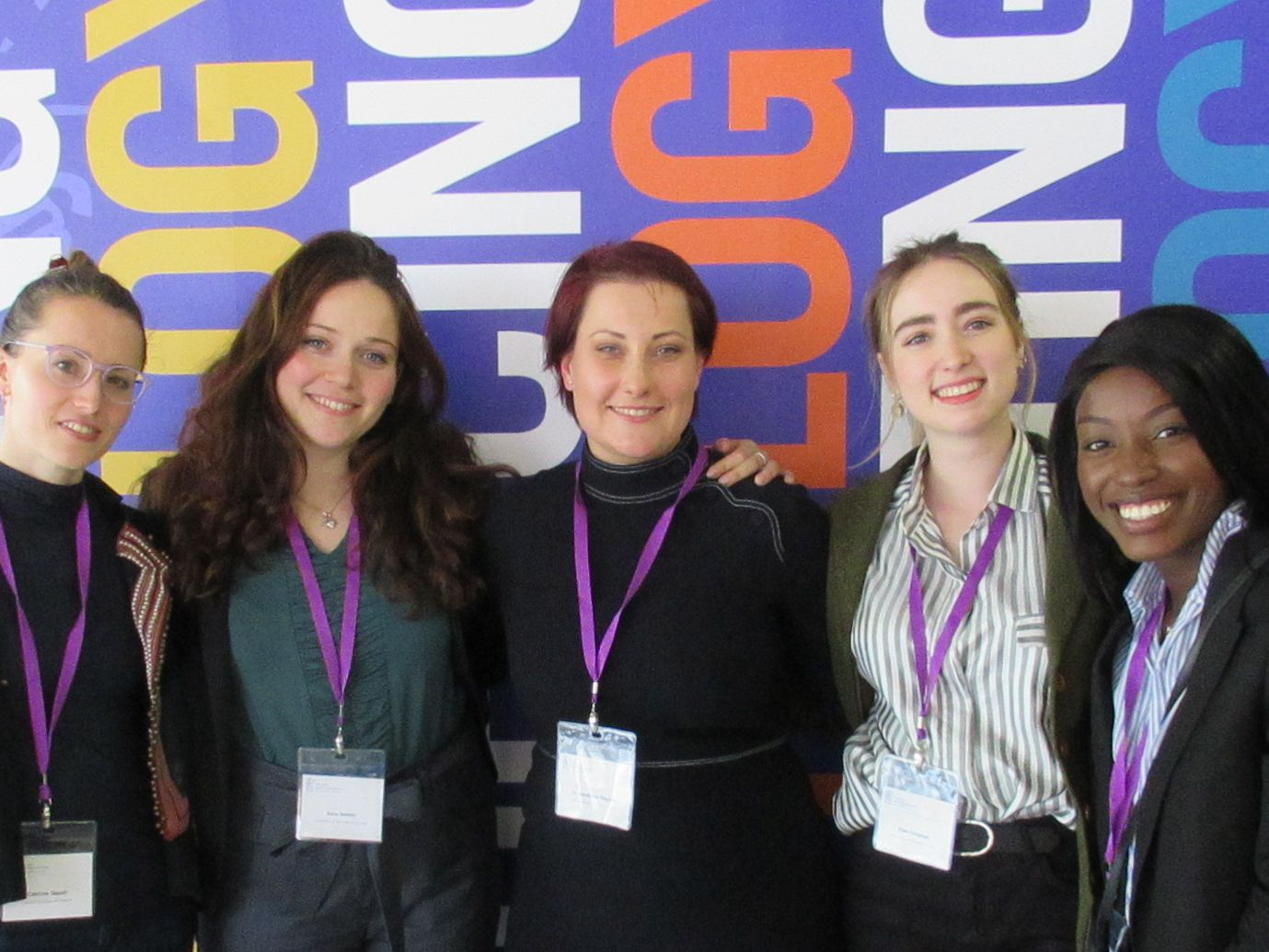 MSc Psychology Applied to Fashion students at the BPS Annual Conference 2019