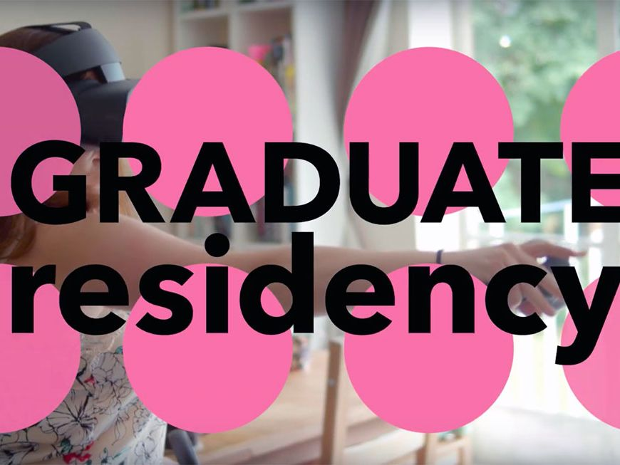 Titles from the Graduate Residency film.