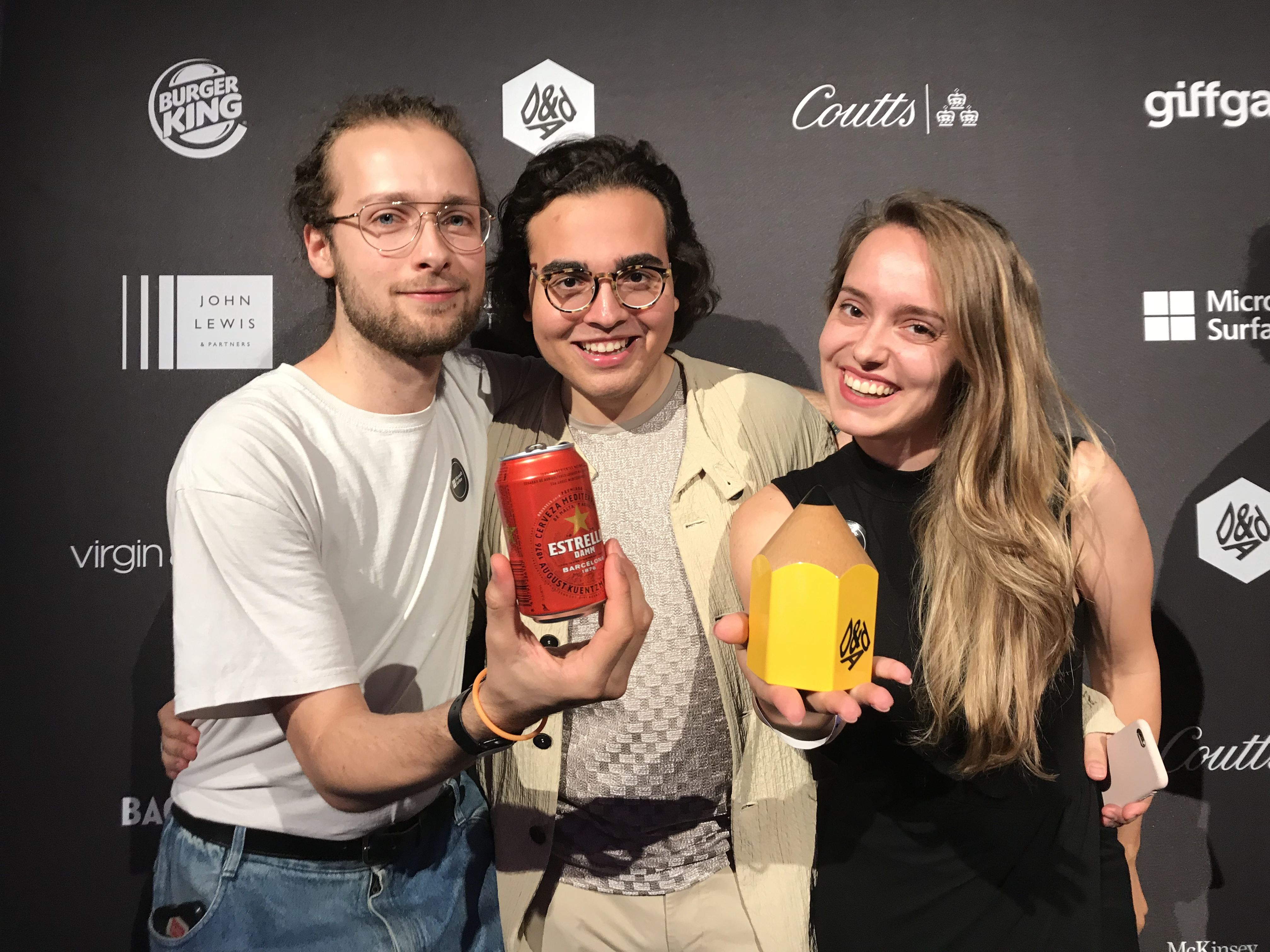 BA (Hons) Advertising students win D&AD New Blood Yellow Pencil for their brief
