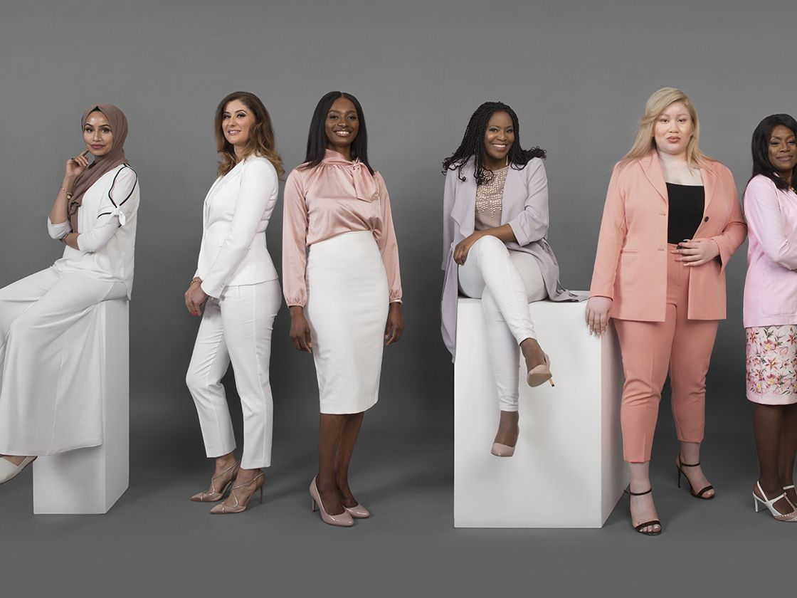 Picture of diverse women in suits
