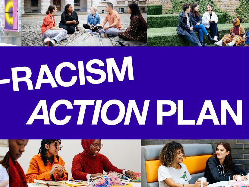 Anti-Racism Action Plan graphic
