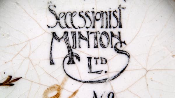 The Democratic Dish: Mintons Secessionist Ware