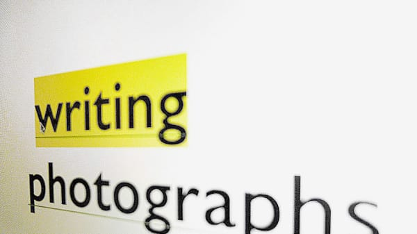 Writing Photographs