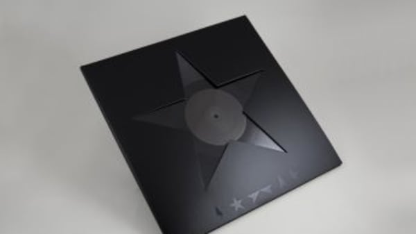 Blackstar, David Bowie Photo by Barnbrook
