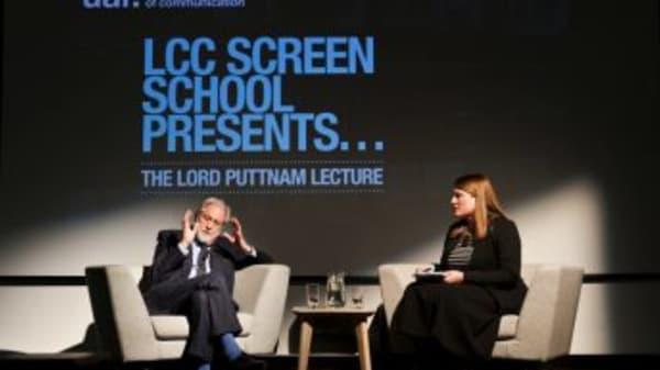 Lord Puttnam launches LCC Screen School