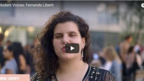 Student Voices: Fernanda Liberti