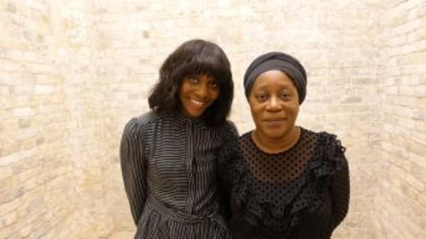Brenda Emmanus (left) and Sonia Boyce (Right). Photography by Lorian Reed-Drake. BBC Studios web