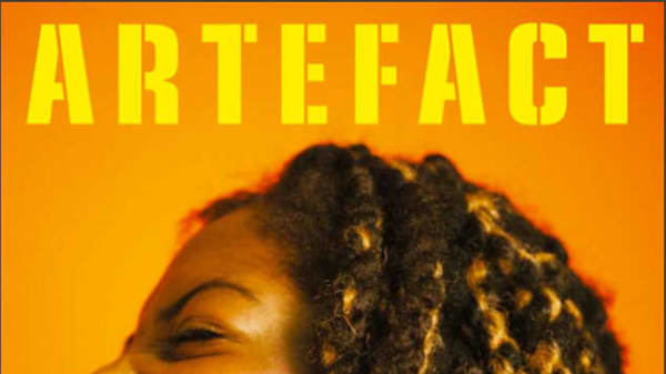 Front cover of the Unrest issue of Artefact magazine