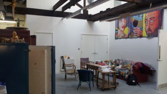 Grayson Perry's studio