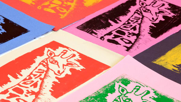 Girafe Prints in different colours