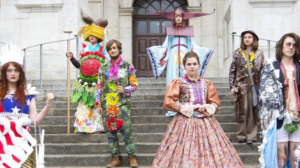 Wimbledon College of Arts costume parade.