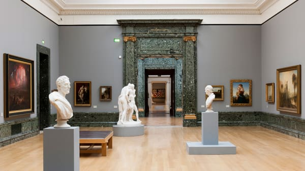 View of a gallery at the Tate Britain