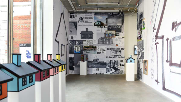 Richard Woods Second Home exhibition at Chelsea Space