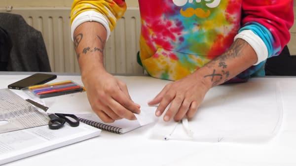 SEWINGd9vC Fashion making and pattern cutting