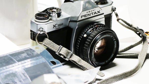 Camera and negatives