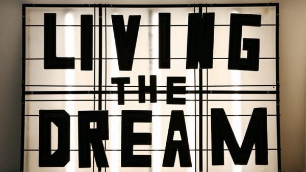 Living The Dream art work